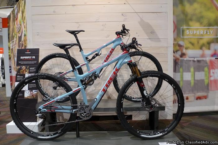 2015 Trek Custom Superfly 2015 CANNONDALE