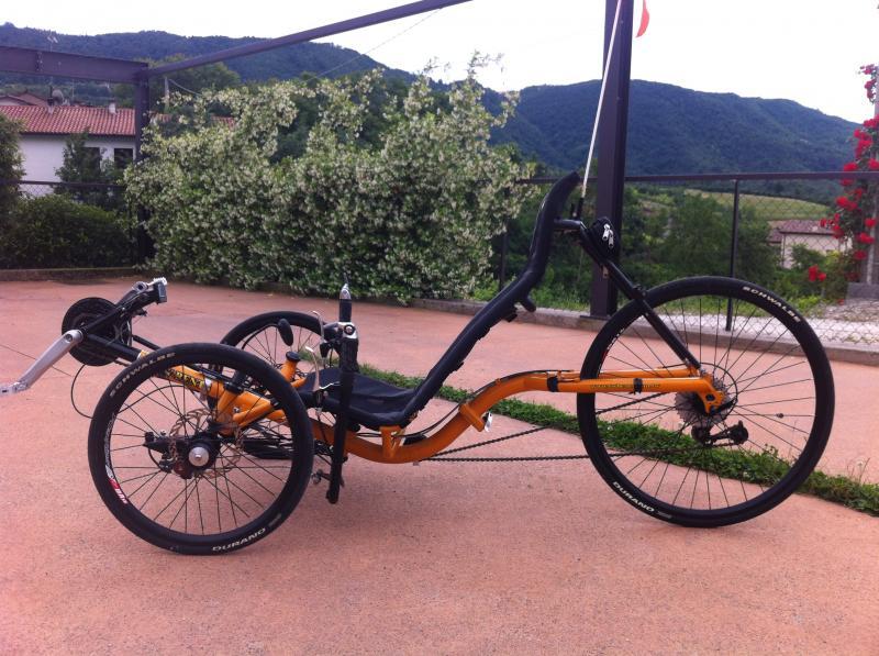Trike Recumbent Usato Come Nuovo Annunci Biciclette Vendita