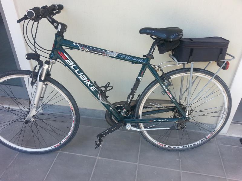 bici da uomo usata