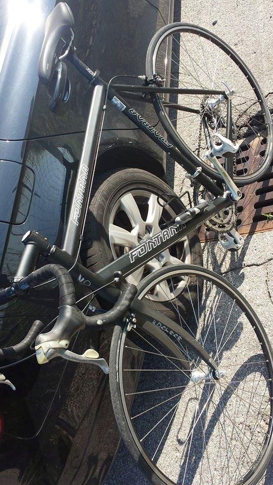 Bici da corsa Fontana carbonio taglia 58