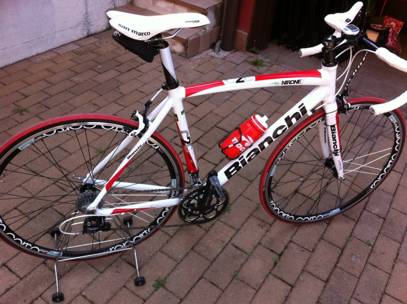Bici corsa Bianchi Nirone