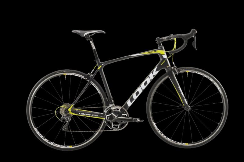 LOOK 765 LIME ULTEGRA MIX 11v AKSIUM 2016